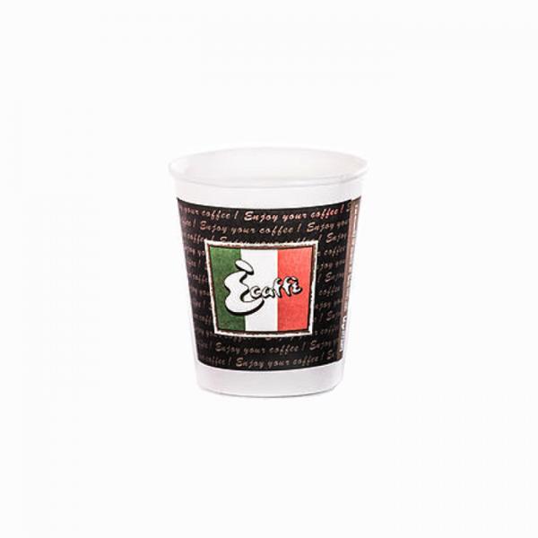 100 бр. Картонени чаши от 180 мл. на Ecaffe на топ цена само в kafe365.com